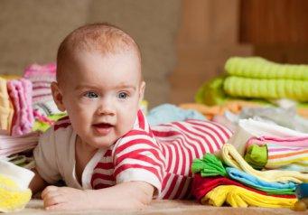 Размеры одежды для малышей