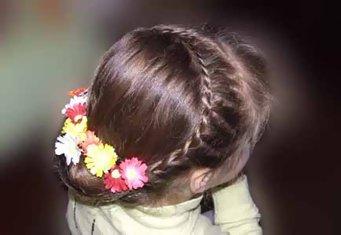Красивые причёски детям на утренник