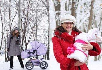 Как часто гулять с новорожденным