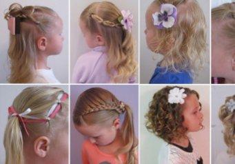 Как заплести волосы прически для девочек 25