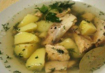 рецепт рыбного супа для детей от 1 года