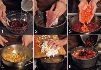 Как сделать заготовки борща