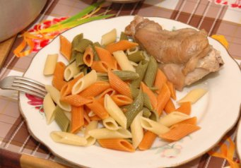Горячие блюда вкусный ужин обед