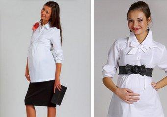 Офисная одежда для беременных