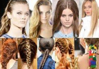 как собрать волосы в школу