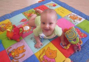Развивающие игрушки с 7 месяцев