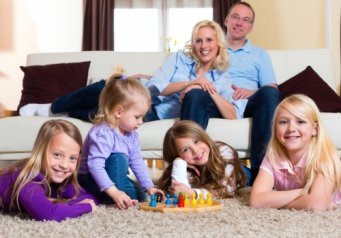 знакомство с детьми о семье