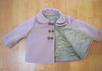 Как из старого пальто сшить пальто для девочки своими руками 94