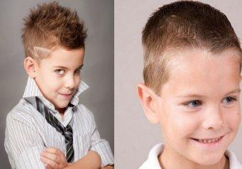 Как сделать прическу для мальчиков без стрижки7