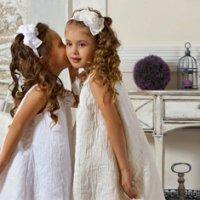 Детские прически и платья на свадьбу