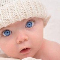 Серые глаза у ребенка 91