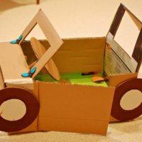 Поделки из из картона для детского сада